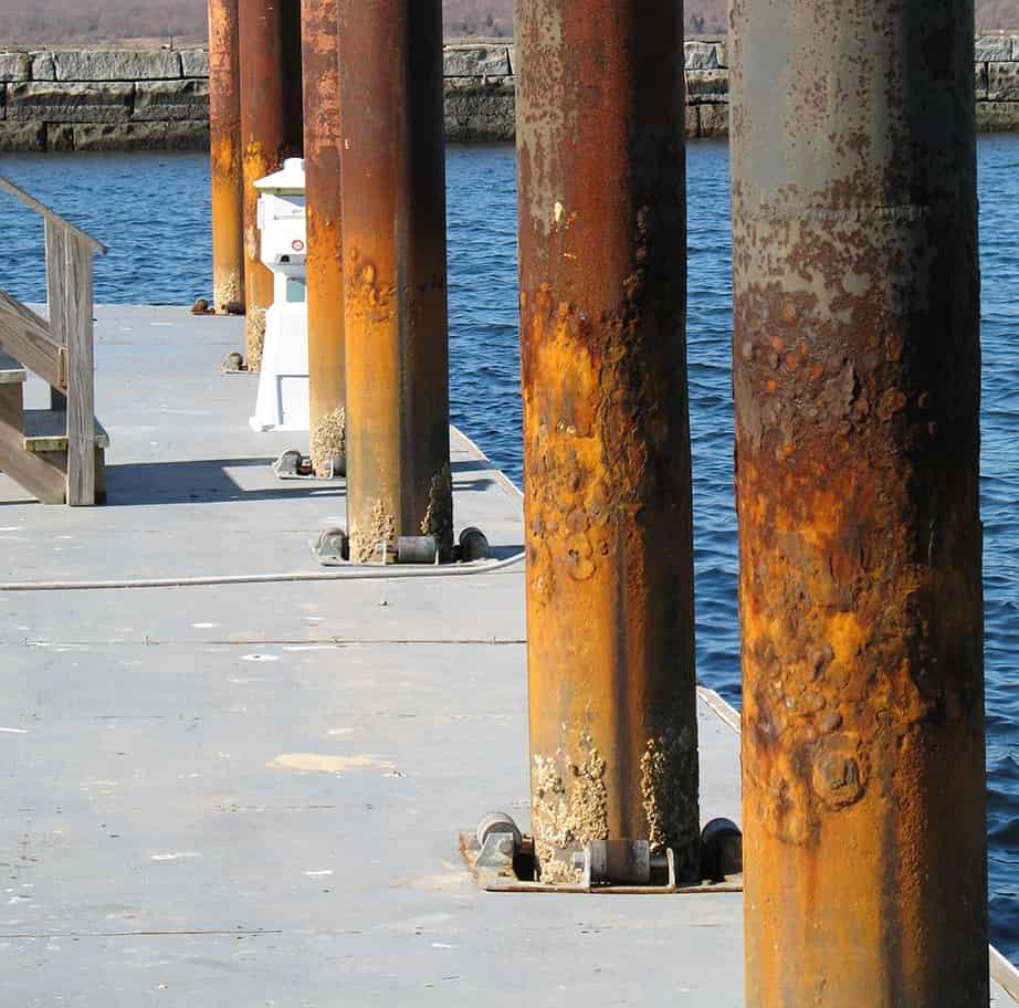 deteriorating-steel-pilings